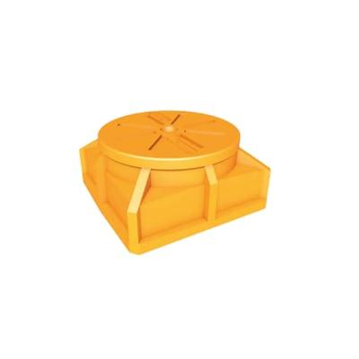 Schacht für Glasfaserkabel