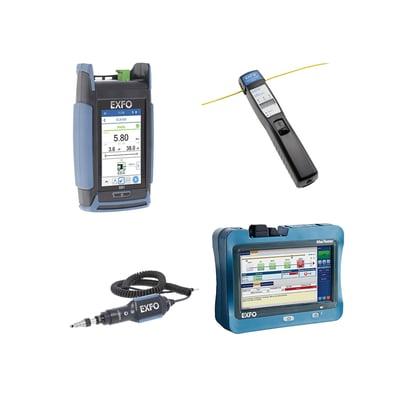Test Equipment Fiber Network